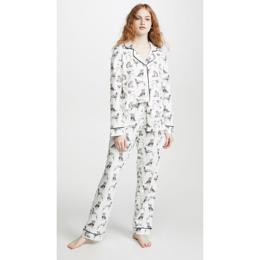 ベッドヘッド BedHead Pajamas レディース インナー・下着 パジャマ・上下セット【Dog Days Classic PJ Set】Black/White