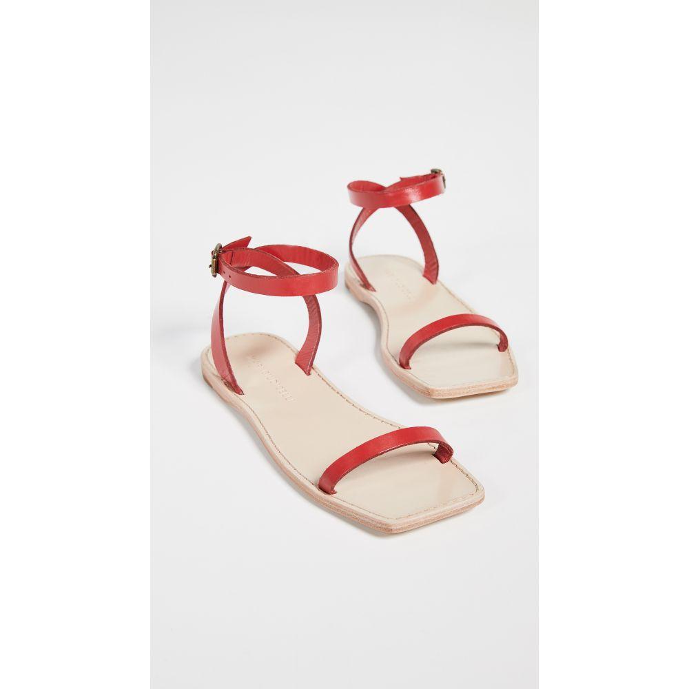 マリ ジウディセリ Mari Giudicelli レディース シューズ・靴 サンダル・ミュール【Valencia Sandals】Red
