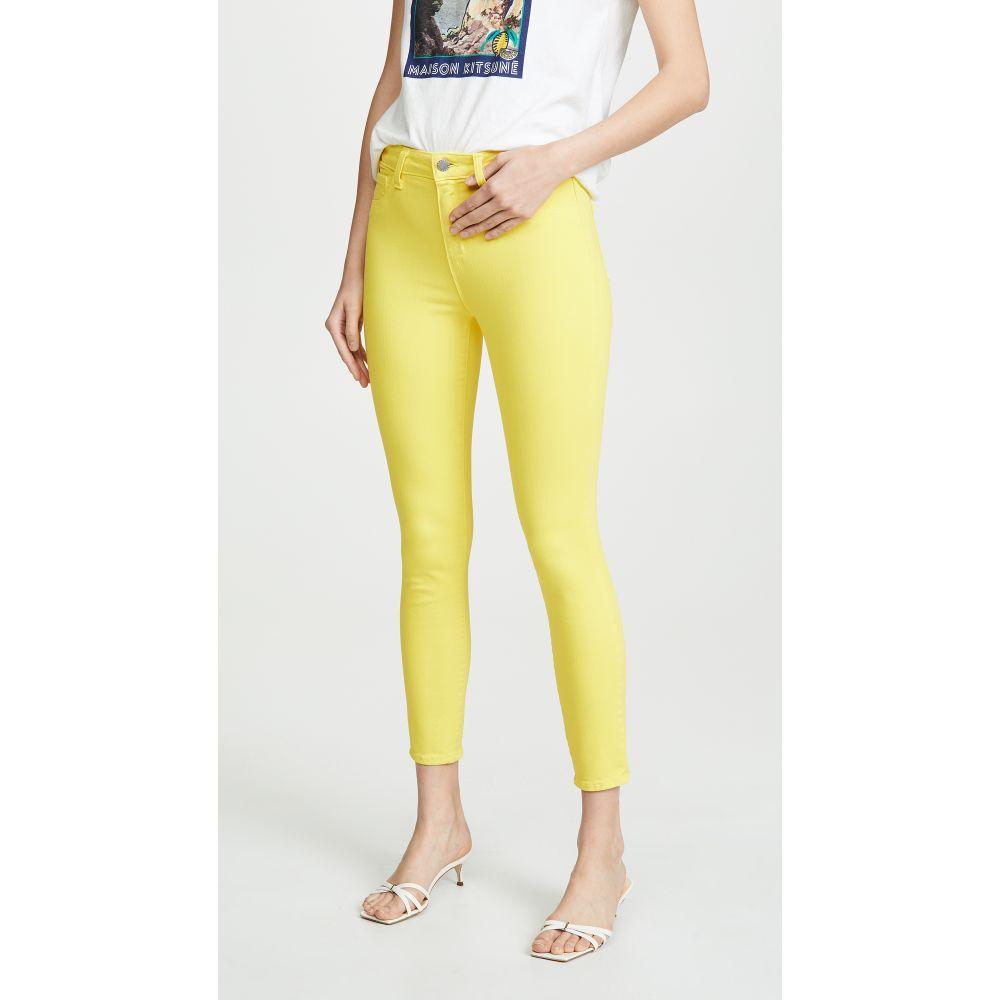 ラジャンス L'AGENCE レディース ボトムス・パンツ ジーンズ・デニム【Margot High Rise Skinny Jeans】Pop Yellow
