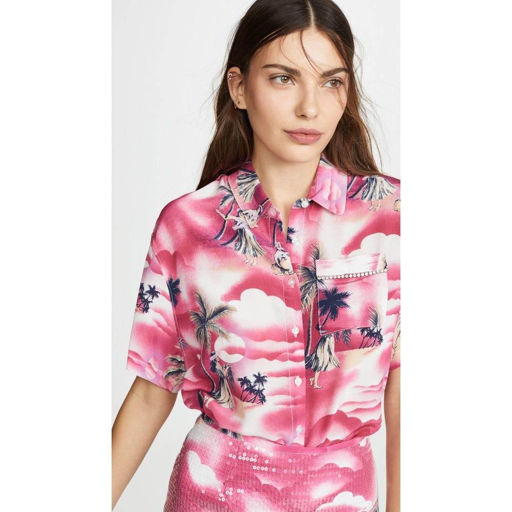 ル シュペルブ Le Superbe レディース トップス ブラウス・シャツ【Club Tropicana Shirt】Hot Pink