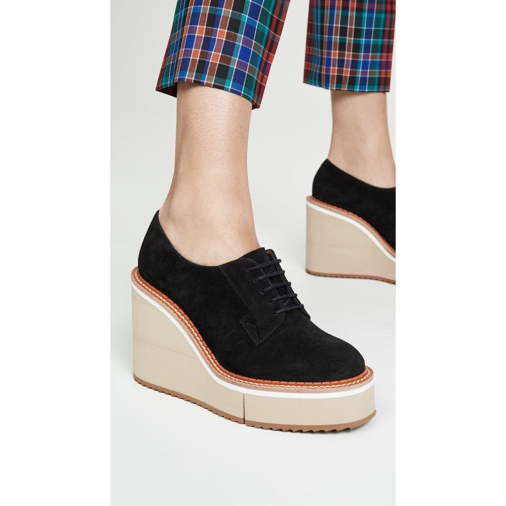 ロベール クレジュリー Clergerie レディース シューズ・靴 ローファー・オックスフォード【Bravo Oxford Platforms】Black