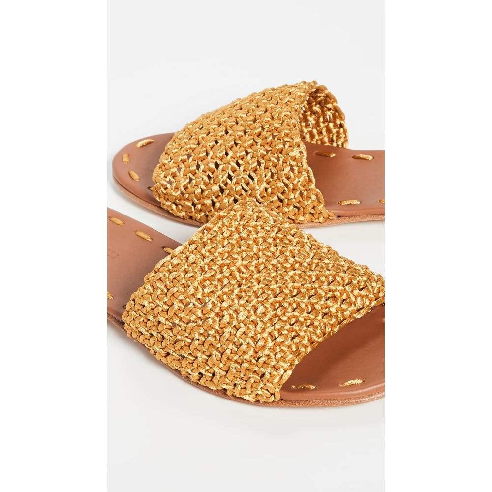 キャリー フォーブス Carrie Forbes レディース シューズ・靴 サンダル・ミュール【Elisa Slides】Gold