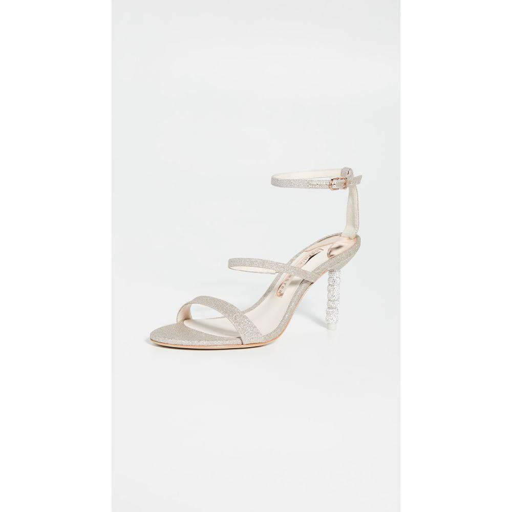 ソフィア ウェブスター Sophia Webster レディース シューズ・靴 サンダル・ミュール【85mm Rosalind Crystal Sandals】Champagne Glitter