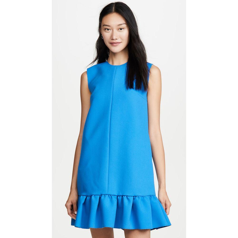 エムエスジーエム MSGM レディース ワンピース・ドレス ワンピース【Drop Waist Dress】Peacock