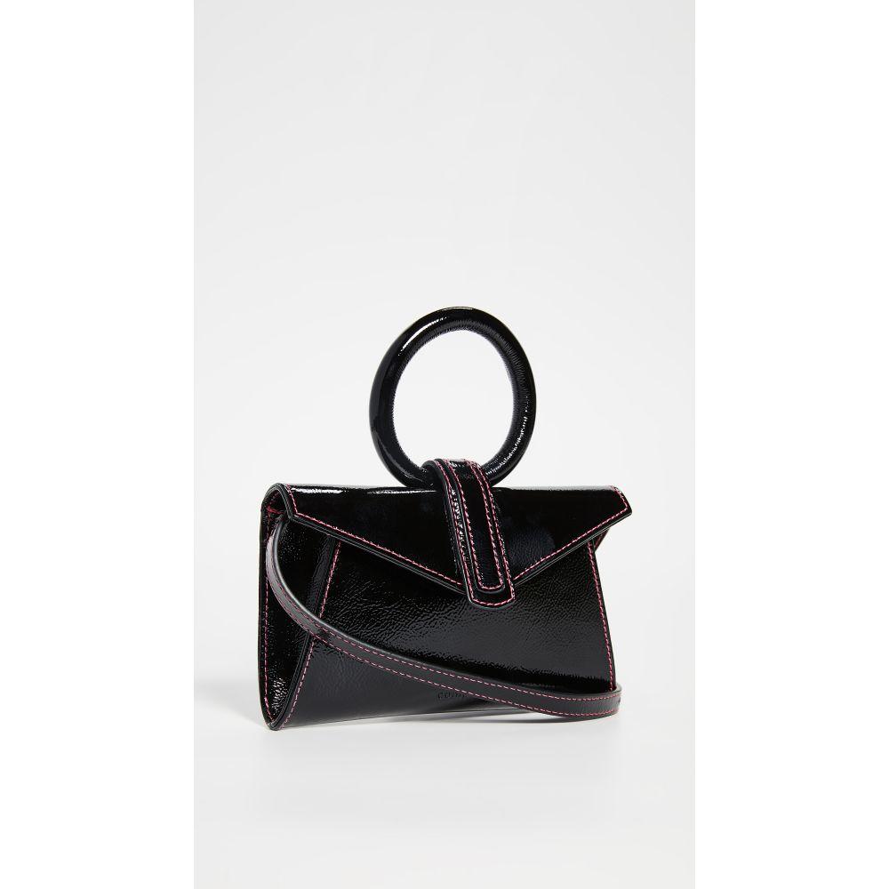 コンプリートリー Complet レディース バッグ ボディバッグ・ウエストポーチ【Valery Micro Belt Bag】Black