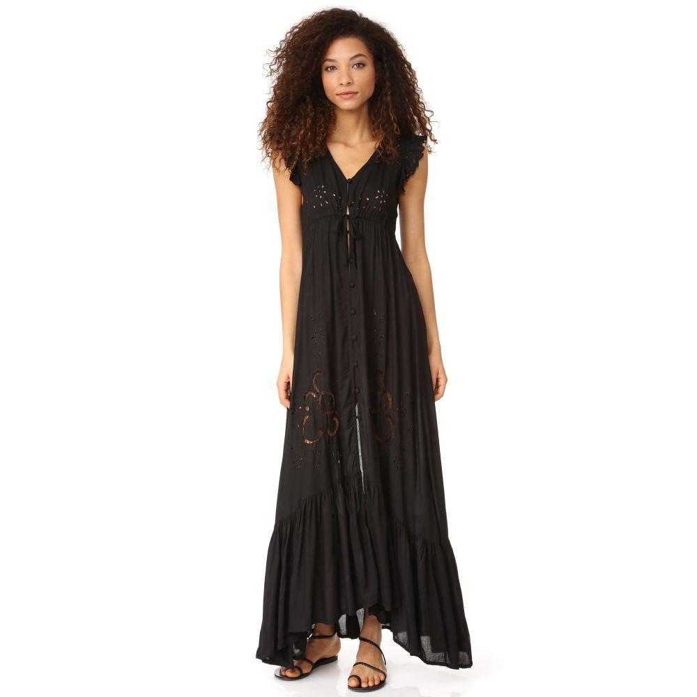 ティアレ ハワイ TIARE HAWAII レディース 水着・ビーチウェア ビーチウェア【Krawang Kimono Dress】Black