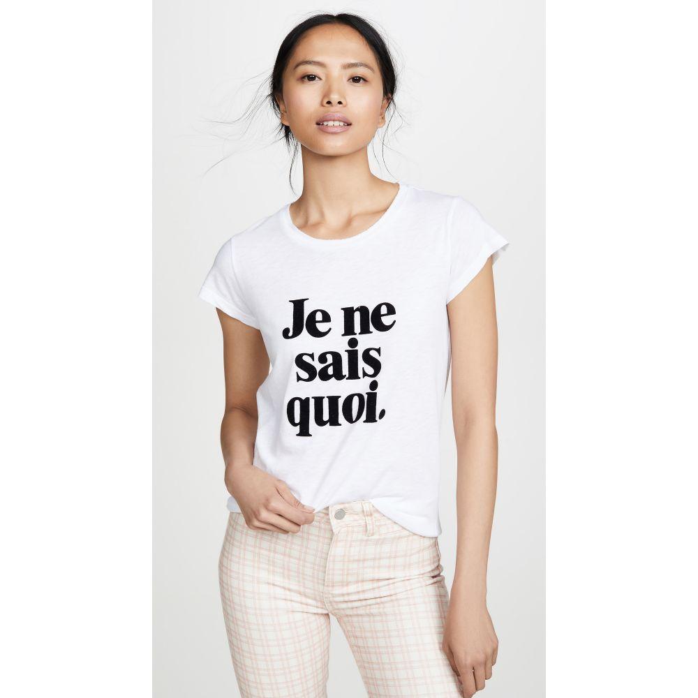 ザディグ エ ヴォルテール Zadig & Voltaire レディース トップス Tシャツ【Skinny JNSQ Tee】Blanc