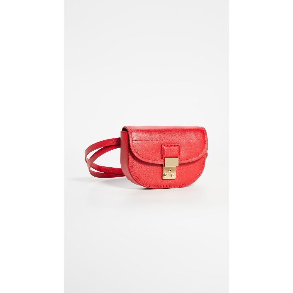 スリーワン フィリップ リム 3.1 Phillip Lim レディース バッグ ボディバッグ・ウエストポーチ【Pashli Mini Saddle Belt Bag】Red
