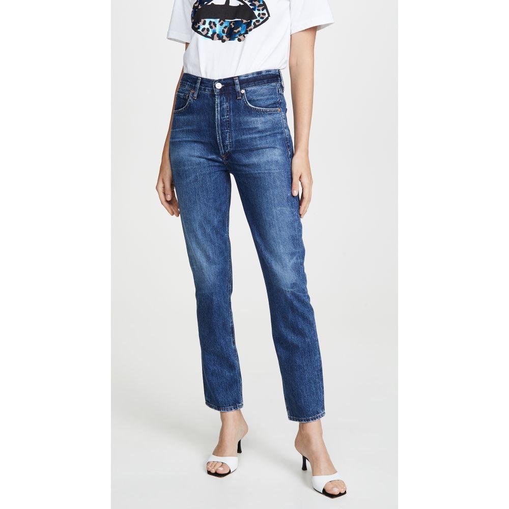 シチズン オブ ヒューマニティ Citizens of Humanity レディース ボトムス・パンツ ジーンズ・デニム【Charlotte High Rise Straight Jeans】Hold On