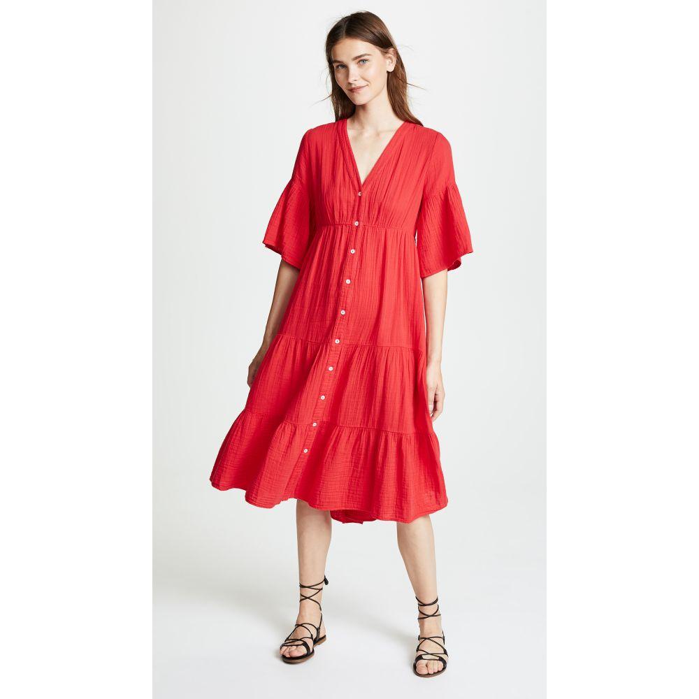 セレナ XIRENA レディース ワンピース・ドレス ワンピース【Kendall Dress】Red Hot