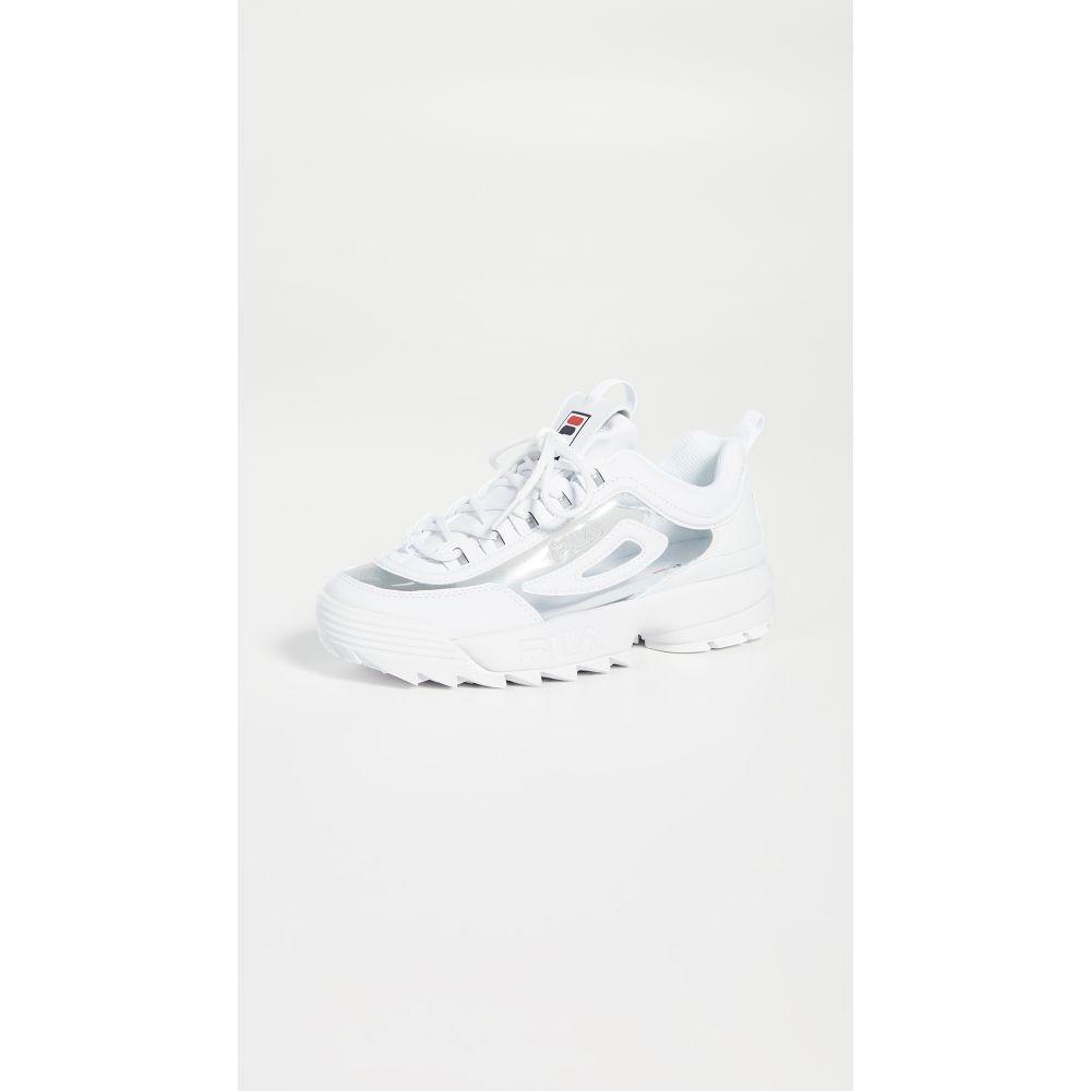 フィラ Fila レディース シューズ・靴 スニーカー【Disruptor II Clear Sneakers】Wht/Fnvy/Fred