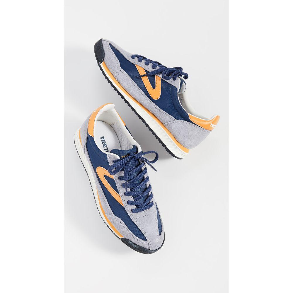 トレトン Tretorn レディース シューズ・靴 スニーカー【Rawlins 2 Sneakers】Stone Blue/Oltremare/Marigold