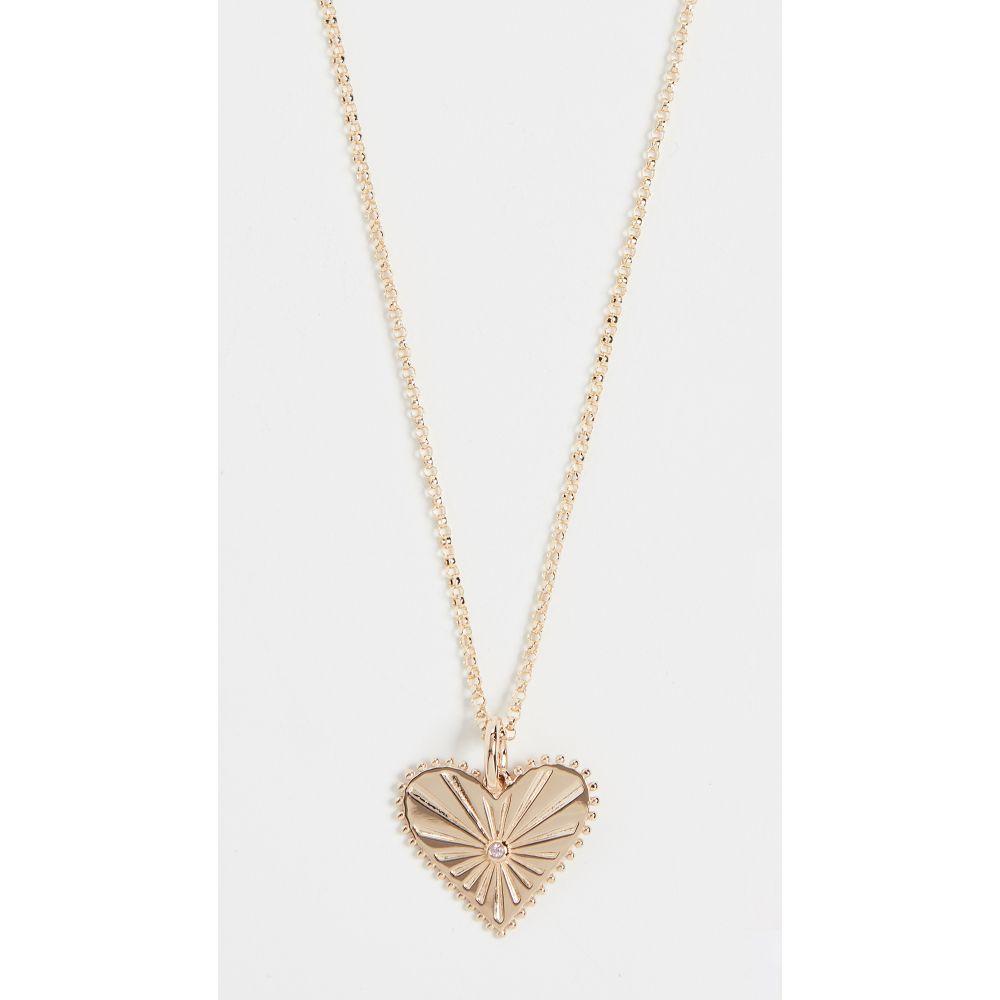 マーロ Laz ラズ Marlo Laz レディース Mini ジュエリー・アクセサリー ネックレス【14k Heart Mini Pour Toujours Heart Coin Necklace】Pink Tourmaline/Gold, 南幌町:e823e365 --- officewill.xsrv.jp
