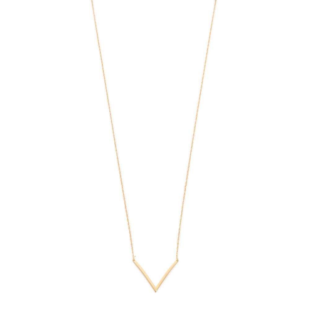 ジェニファーズーナー Jennifer Zeuner Jewelry レディース ジュエリー・アクセサリー ネックレス【Bianca Small Necklace】Gold
