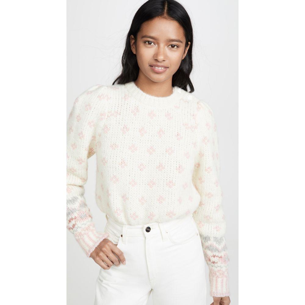 ラブシャックファンシー LOVESHACKFANCY レディース トップス ニット・セーター【Rosie Alpaca Sweater】Milky Clouds