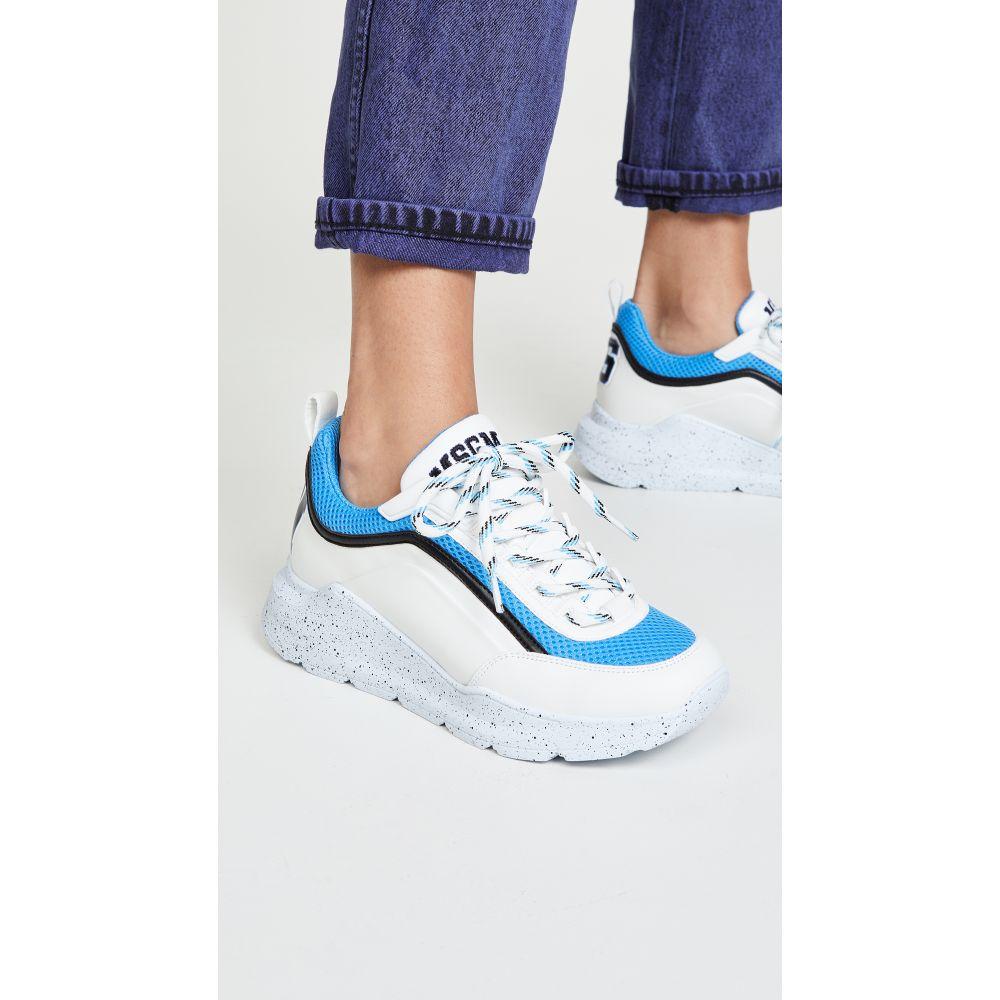 エムエスジーエム MSGM レディース ハイキング・登山 シューズ・靴【College Hiking Trainers】Blue