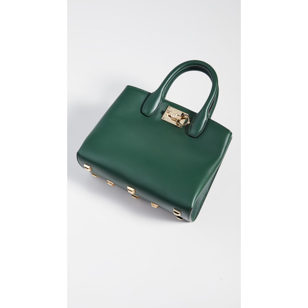 サルヴァトーレ フェラガモ Salvatore Ferragamo レディース バッグ【The Mini Studio Bag】Pine