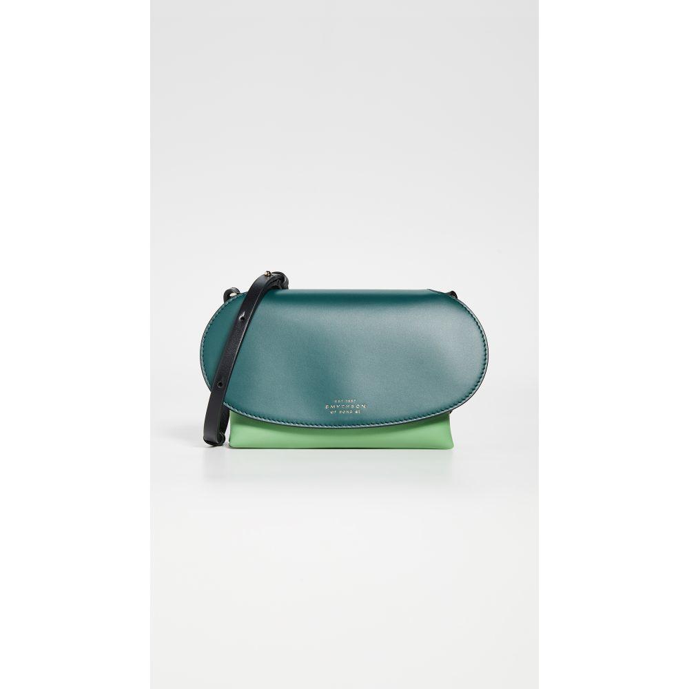 スマイソン Smythson レディース バッグ ショルダーバッグ【Mini Pillow Crossbody Bag】Emerald