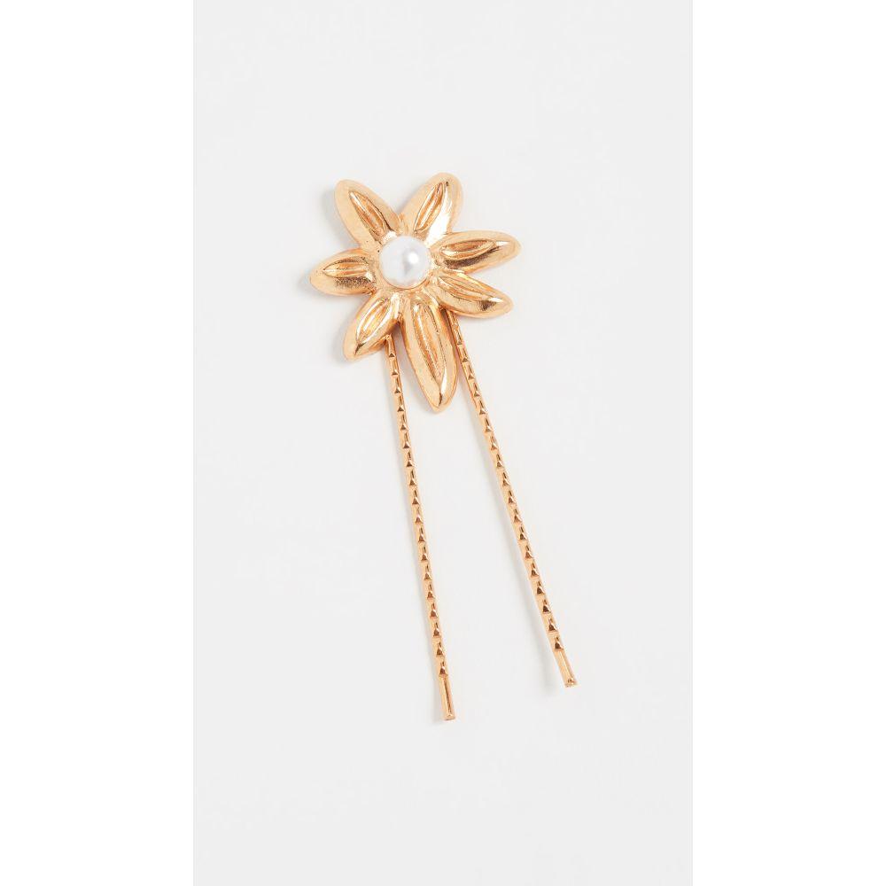 オスカー デ ラ レンタ Oscar de la Renta レディース ヘアアクセサリー【Star Hair Pin】Gold