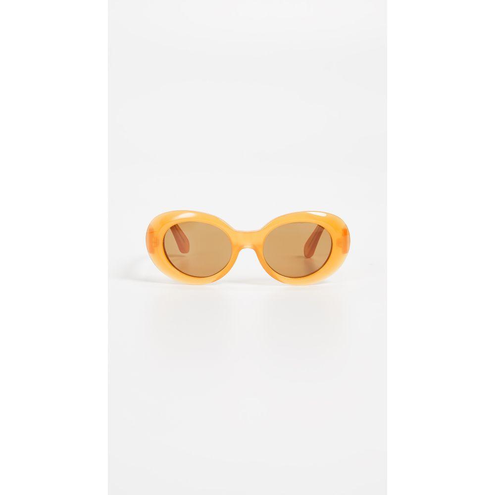アクネ ストゥディオズ Acne Studios レディース メガネ・サングラス 【Mustang Sunglasses】Orange/Brown