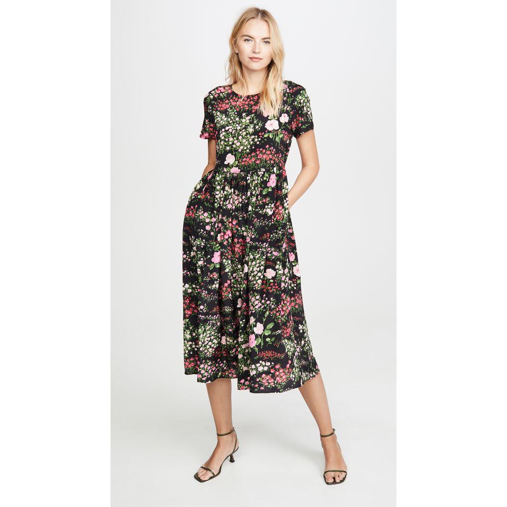 ナンバーシックス No.6 レディース ワンピース ワンピース・ドレス【Maeve Dress】Black English Garden