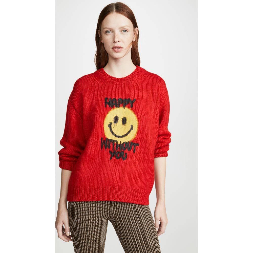 フィロソフィ ディ ロレンツォ セラフィニ Philosophy di Lorenzo Serafini レディース ニット・セーター トップス【Sweater】Fantasy Print Red