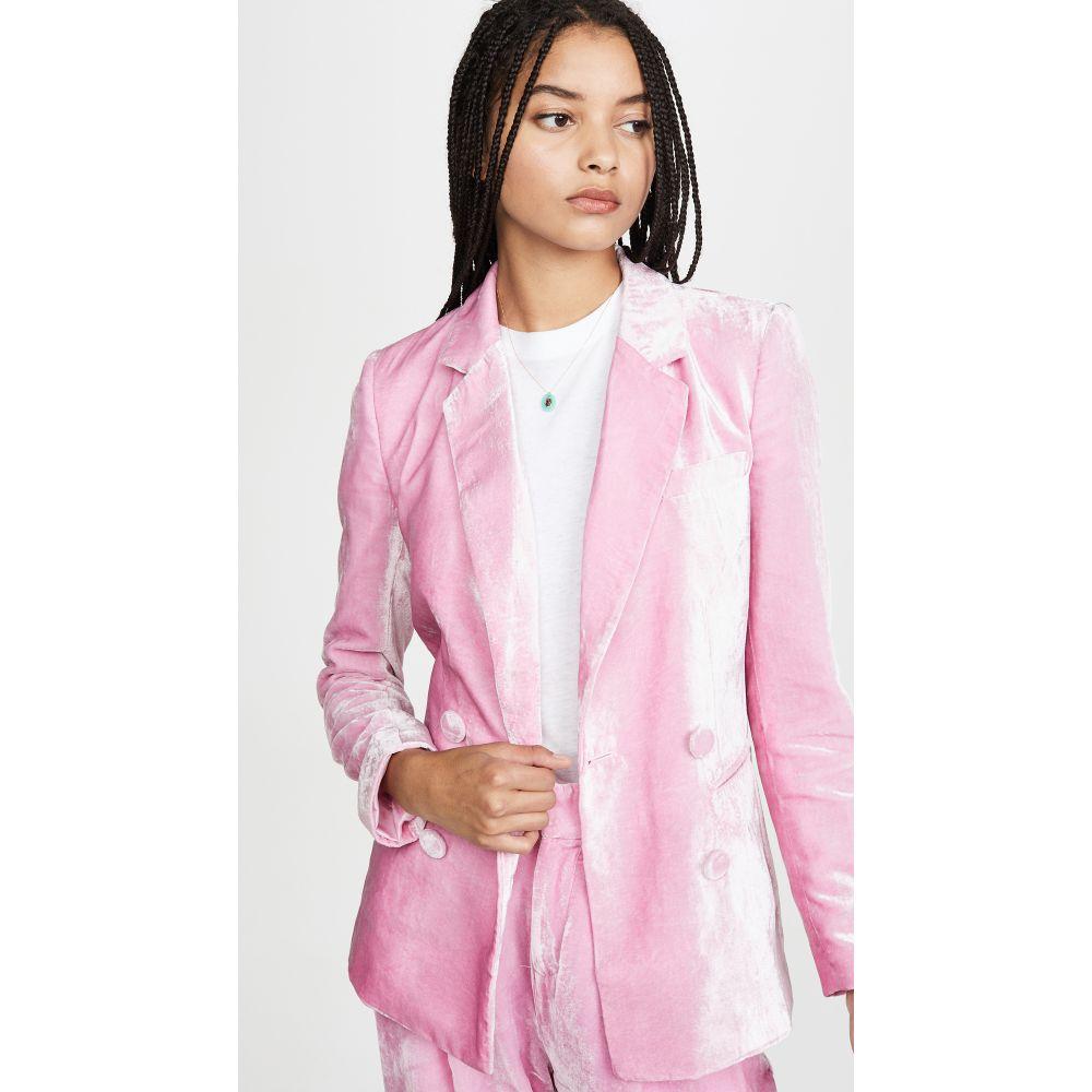 レイチェル アントノフ Rachel Antonoff レディース スーツ・ジャケット アウター【Billie Blazer】Powder Pink