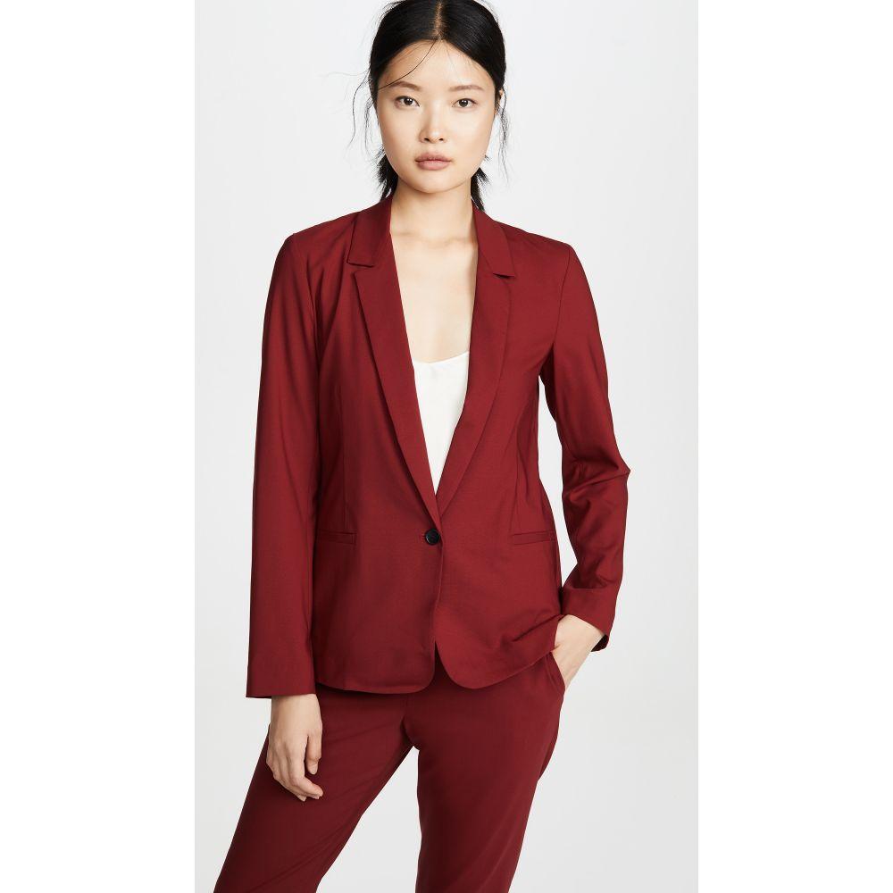 シックススリーナインセブン 6397 レディース スーツ・ジャケット アウター【Mini Lapel Blazer】Red