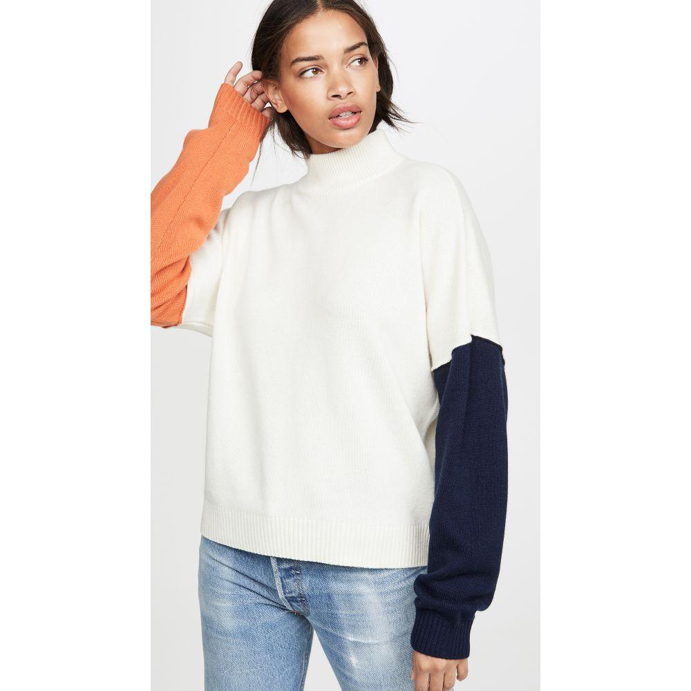 ボールドウィン BLDWN レディース ニット・セーター トップス【Cara Sweater】Powder White Multi