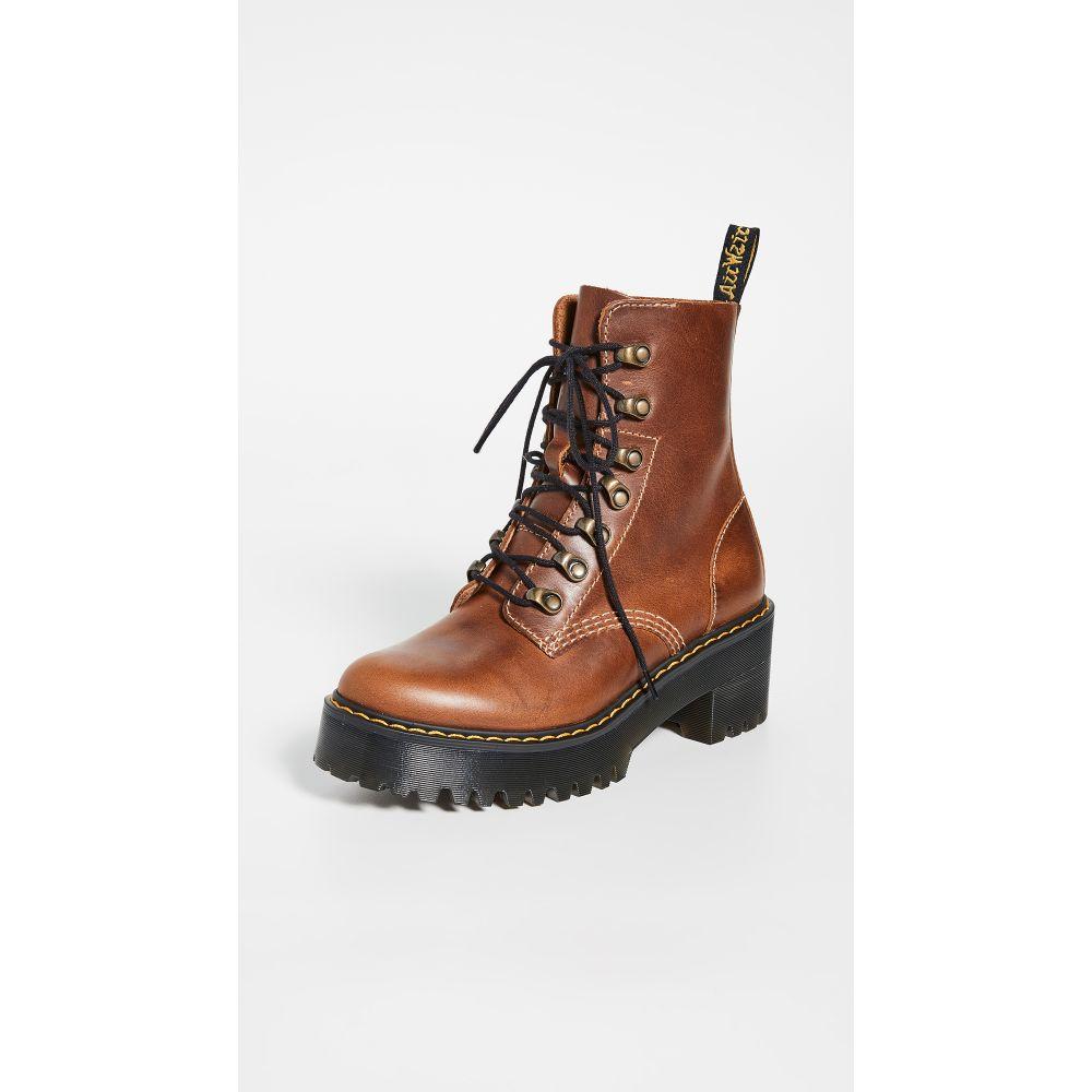ドクターマーチン Dr. Martens レディース ハイキング・登山 ブーツ シューズ・靴【Leona Hiker Boots】Butterscotch