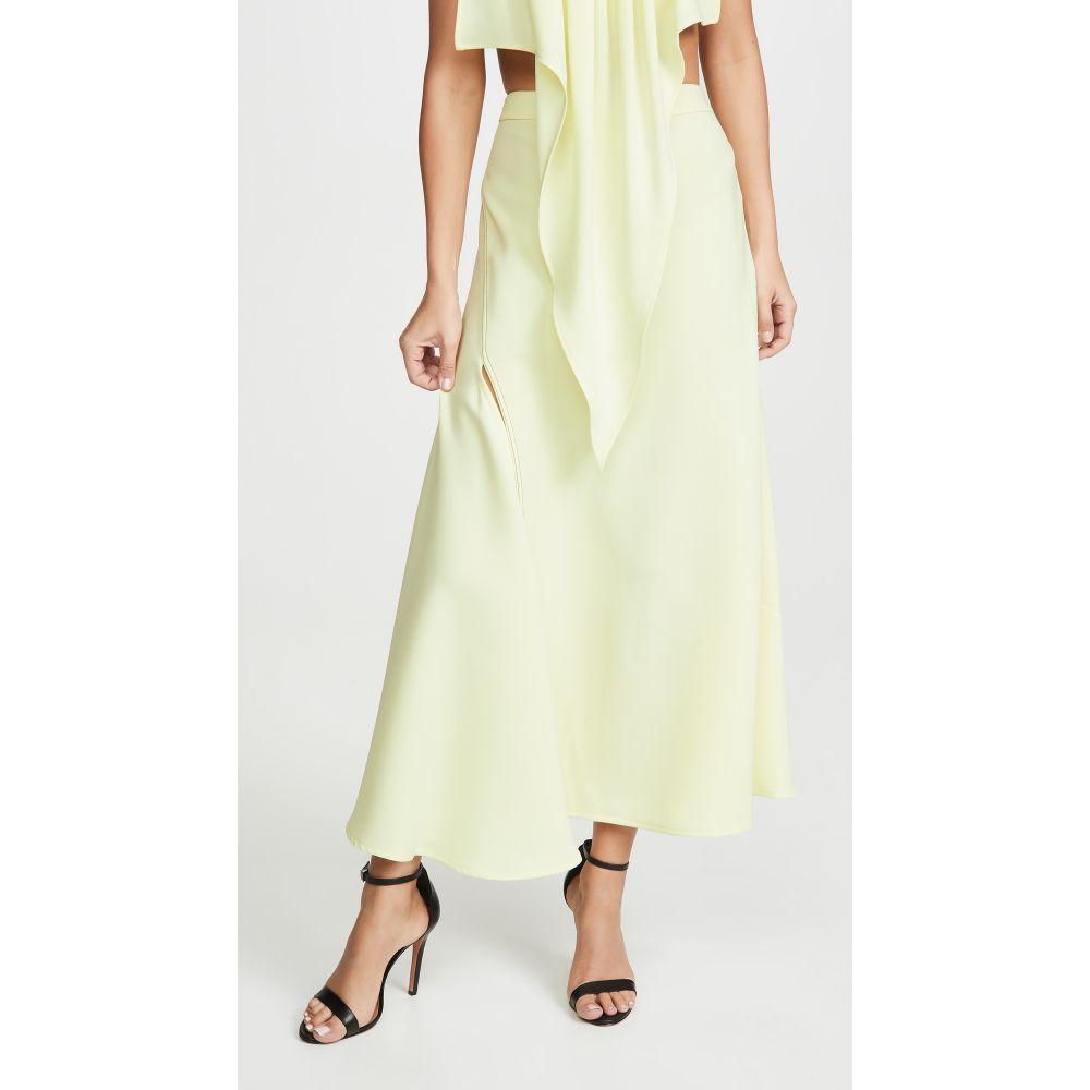 エラリー Ellery レディース スカート スリットスカート【High Slit Skirt】Yellow