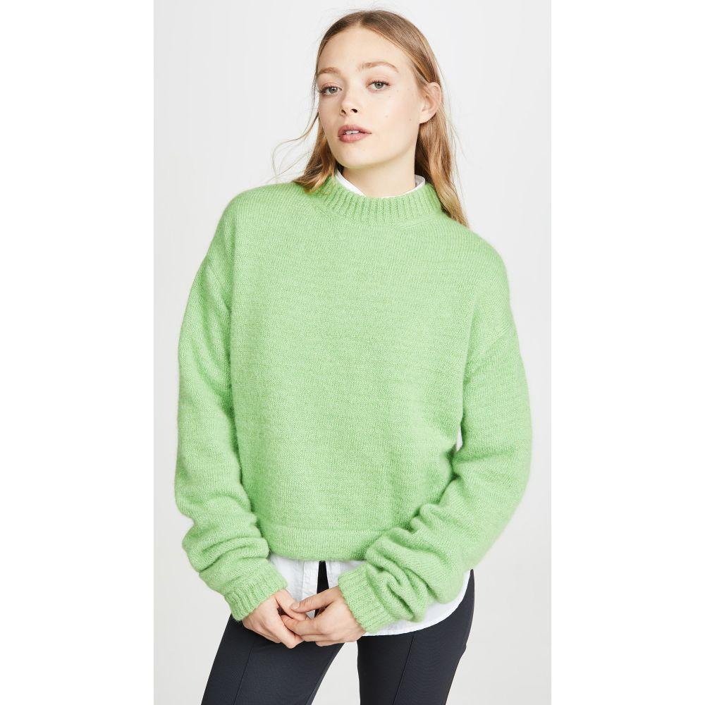 ゲージ81 GAUGE81 レディース ニット・セーター トップス【istanbul pullover】Apple Green