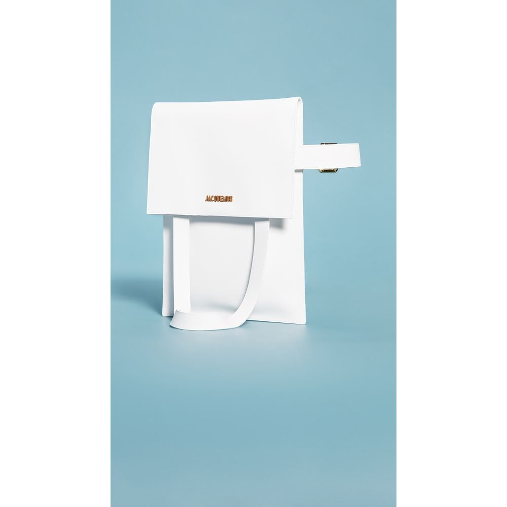 ジャックムス Jacquemus レディース トートバッグ バッグ【le sac murano】White