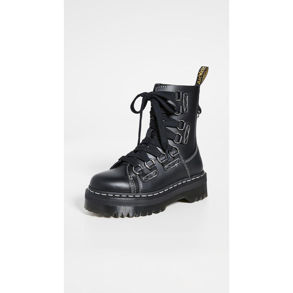 ドクターマーチン Dr. Martens レディース ブーツ シューズ・靴【jadon xl 8 eye boots】Black