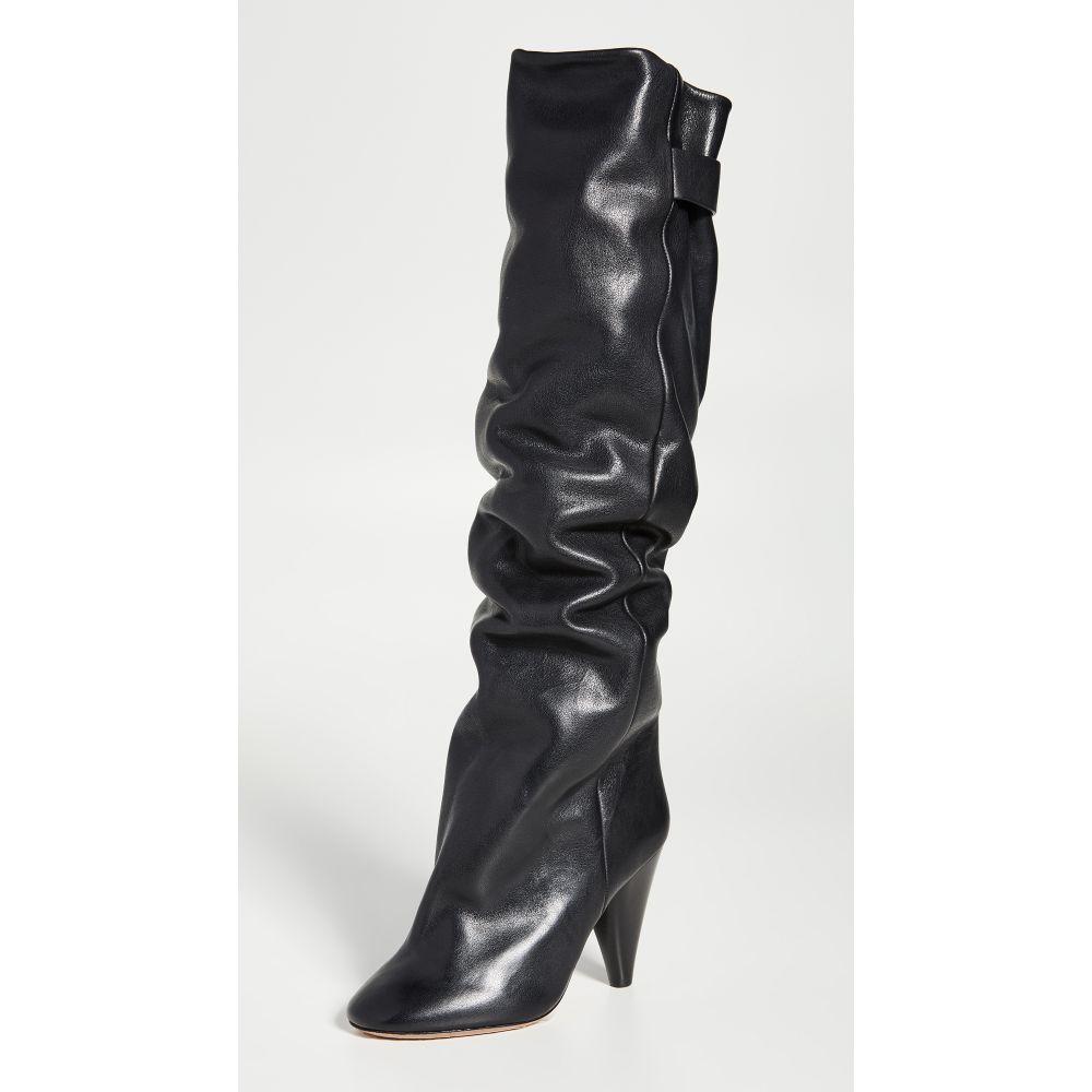イザベル マラン Isabel Marant レディース ブーツ シューズ・靴【lacine wrinkled boots】Black