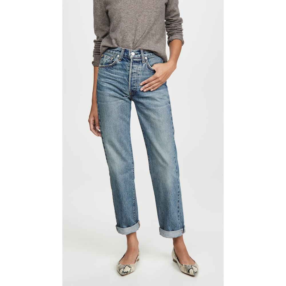 CQY レディース ジーンズ・デニム ボトムス・パンツ【vinyl vintage relaxed jeans】Charming