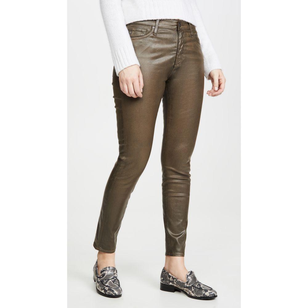 エージー AG レディース ジーンズ・デニム ボトムス・パンツ【the farrah vintage leatherrette skinny ankle jeans】Dark Bayou