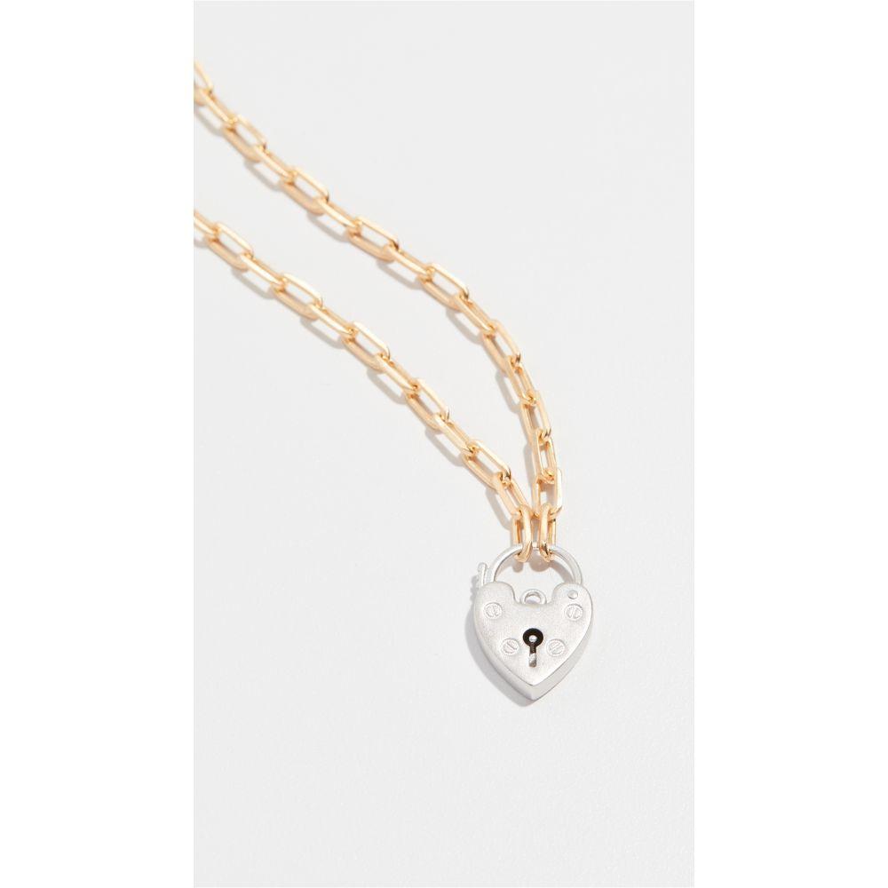メゾンアイレム Maison Irem レディース ネックレス チョーカー ハート ジュエリー・アクセサリー【vintage heart locket choker chain】Gold