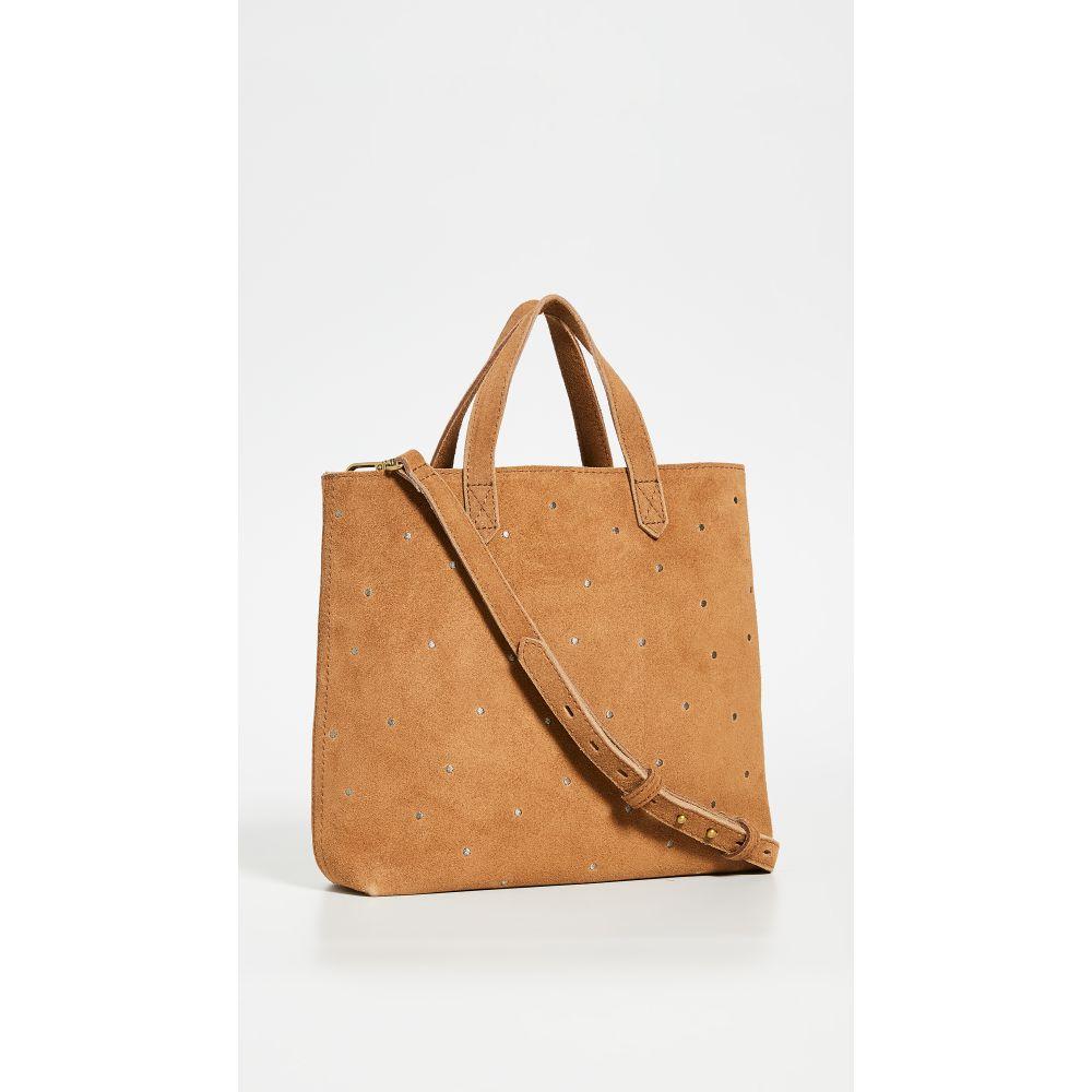 メイドウェル Madewell レディース ショルダーバッグ バッグ【Small Inset Zip Transport Crossbody Bag】Equestrian Brown