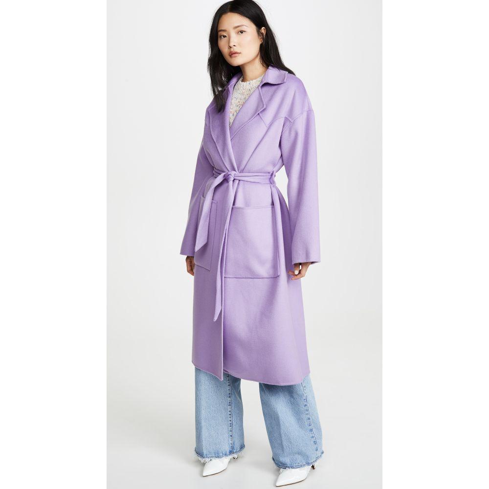 ナヌシュカ Nanushka レディース コート アウター【Alamo Coat】Lilac