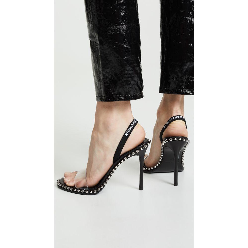 アレキサンダー ワン Alexander Wang レディース サンダル・ミュール シューズ・靴【Nova High Heel Sandals】Black