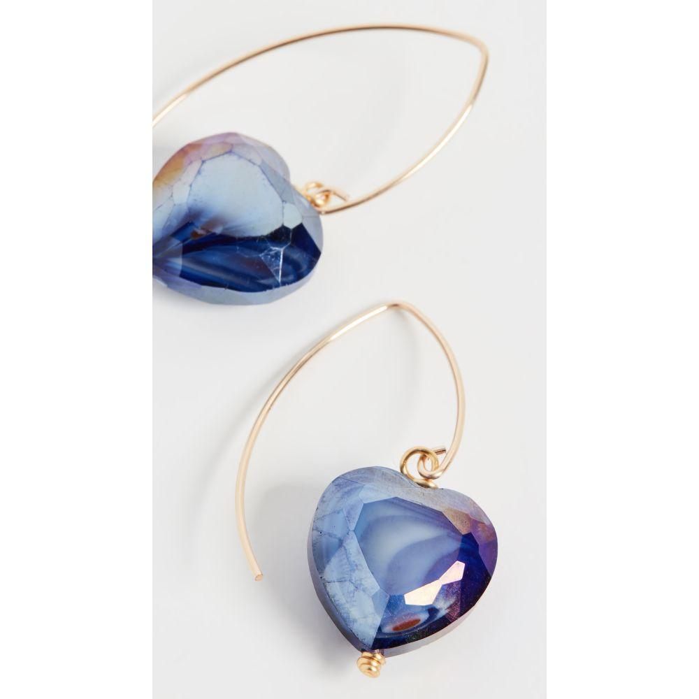 ブリンカー&エリサ Brinker & Eliza レディース イヤリング・ピアス ジュエリー・アクセサリー【Eclipse Earrings】Purple Multi