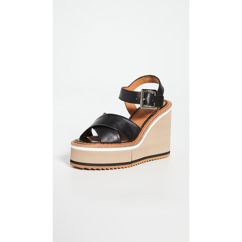 ロベール クレジュリー Clergerie レディース サンダル・ミュール シューズ・靴【Noemie Sandals】Black