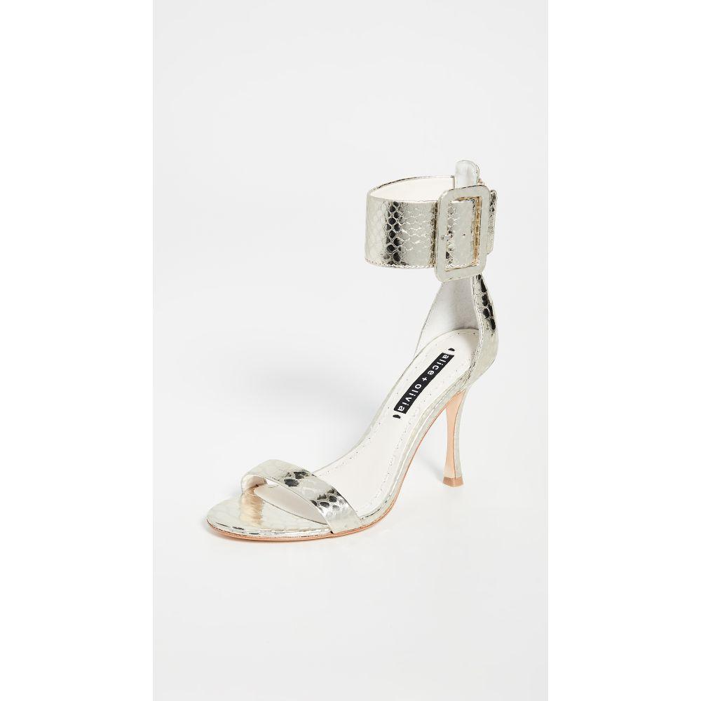 アリス アンド オリビア alice + olivia レディース サンダル・ミュール シューズ・靴【Dolora Sandals】Ivory