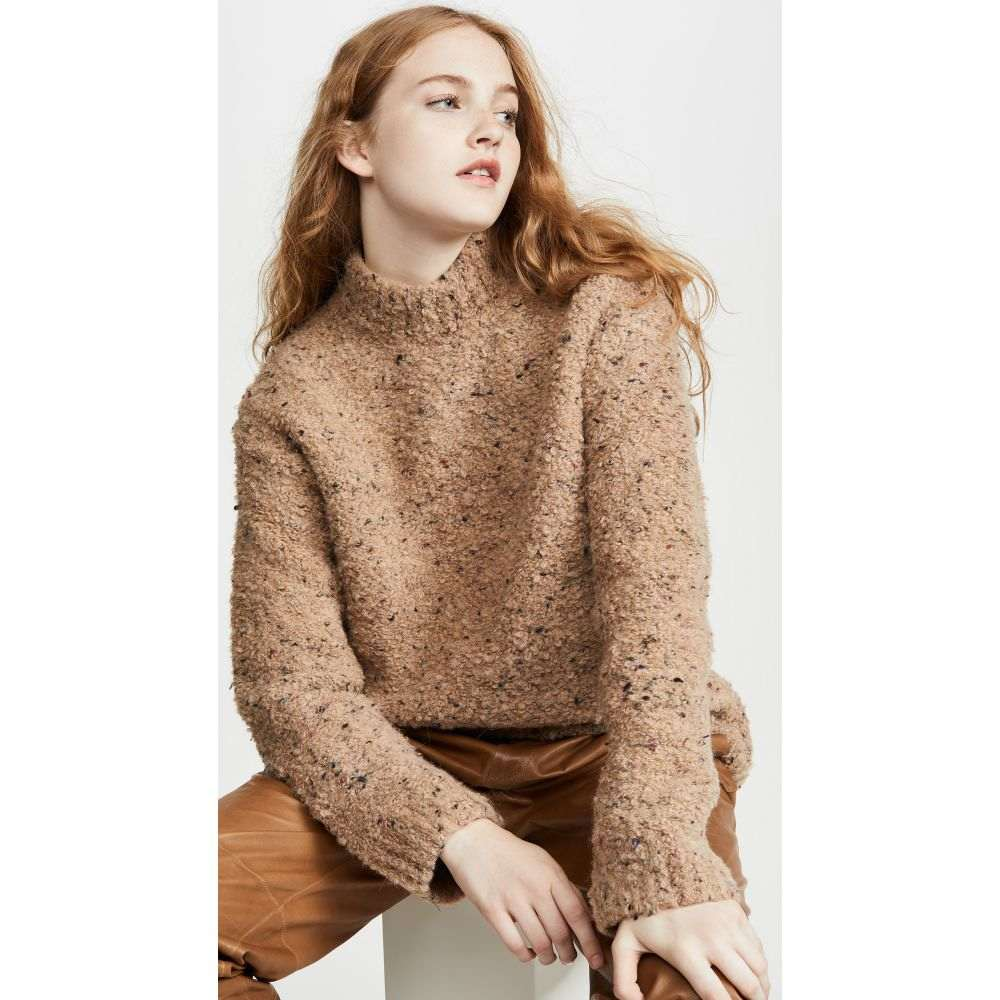 ガニー GANNI レディース ニット・セーター トップス【Slub Knit Sweater】Tapioca