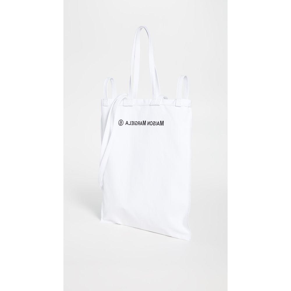 メゾン マルジェラ MM6 Maison Margiela レディース トートバッグ バッグ【Tote Bag】White