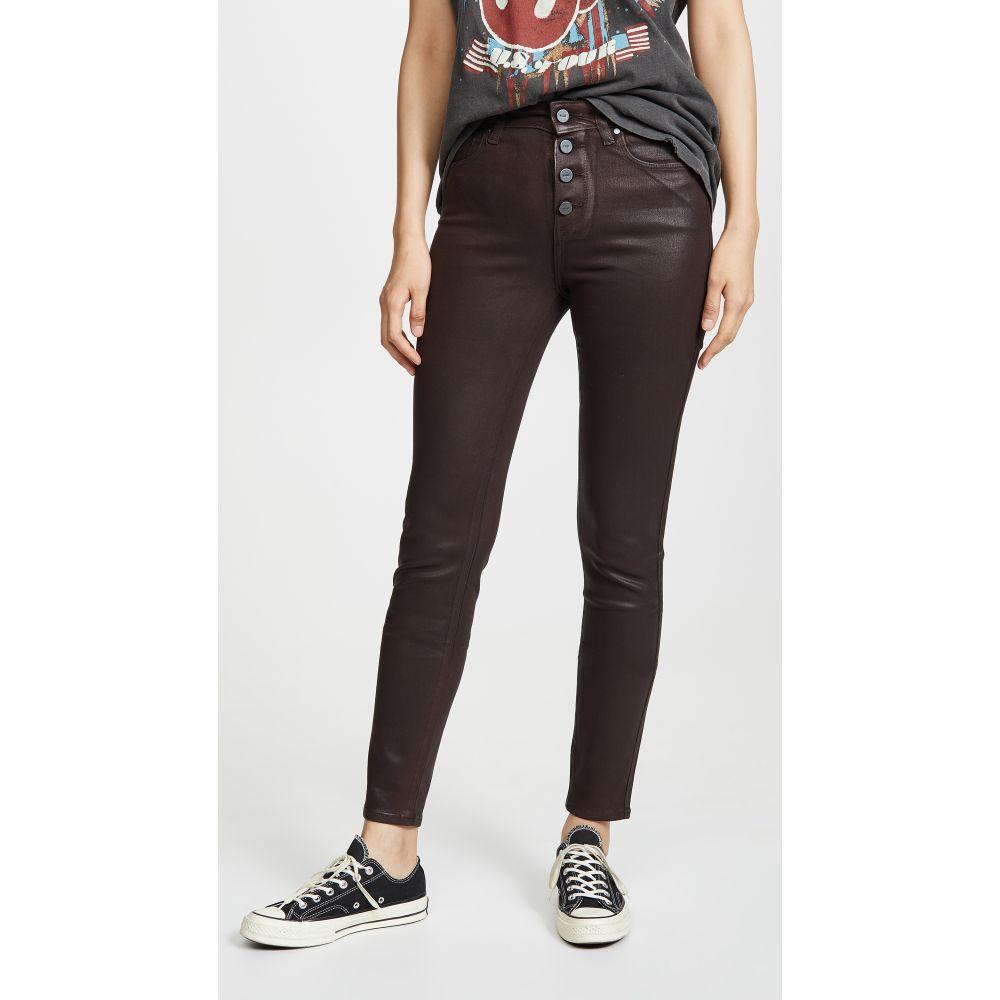 ペイジ PAIGE レディース ジーンズ・デニム ボトムス・パンツ【Hoxton Slim Jeans With Exposed Buttons】Chicory Coffee