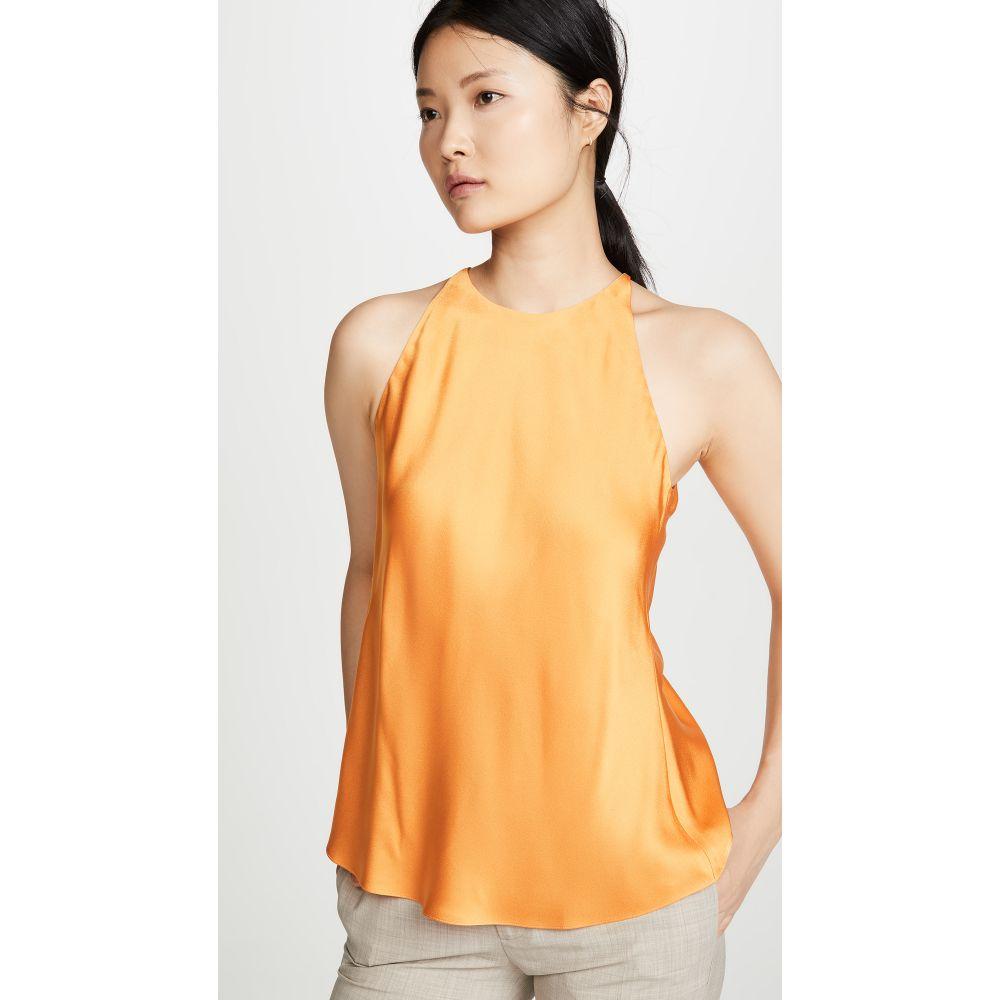 ロゼッタゲティー Rosetta Getty レディース スリップ・キャミソール インナー・下着【Cross Back Cami Top】Tangerine