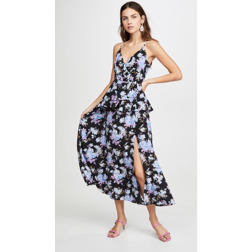 レ レヴェリズ LES REVERIES レディース ワンピース キャミワンピ ワンピース・ドレス【Peplum Cami Dress】Narcissus