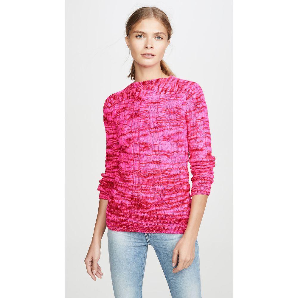 ミカエラ バーガー Michaela Buerger レディース ニット・セーター トップス【Boat Neck Sweater】Pink